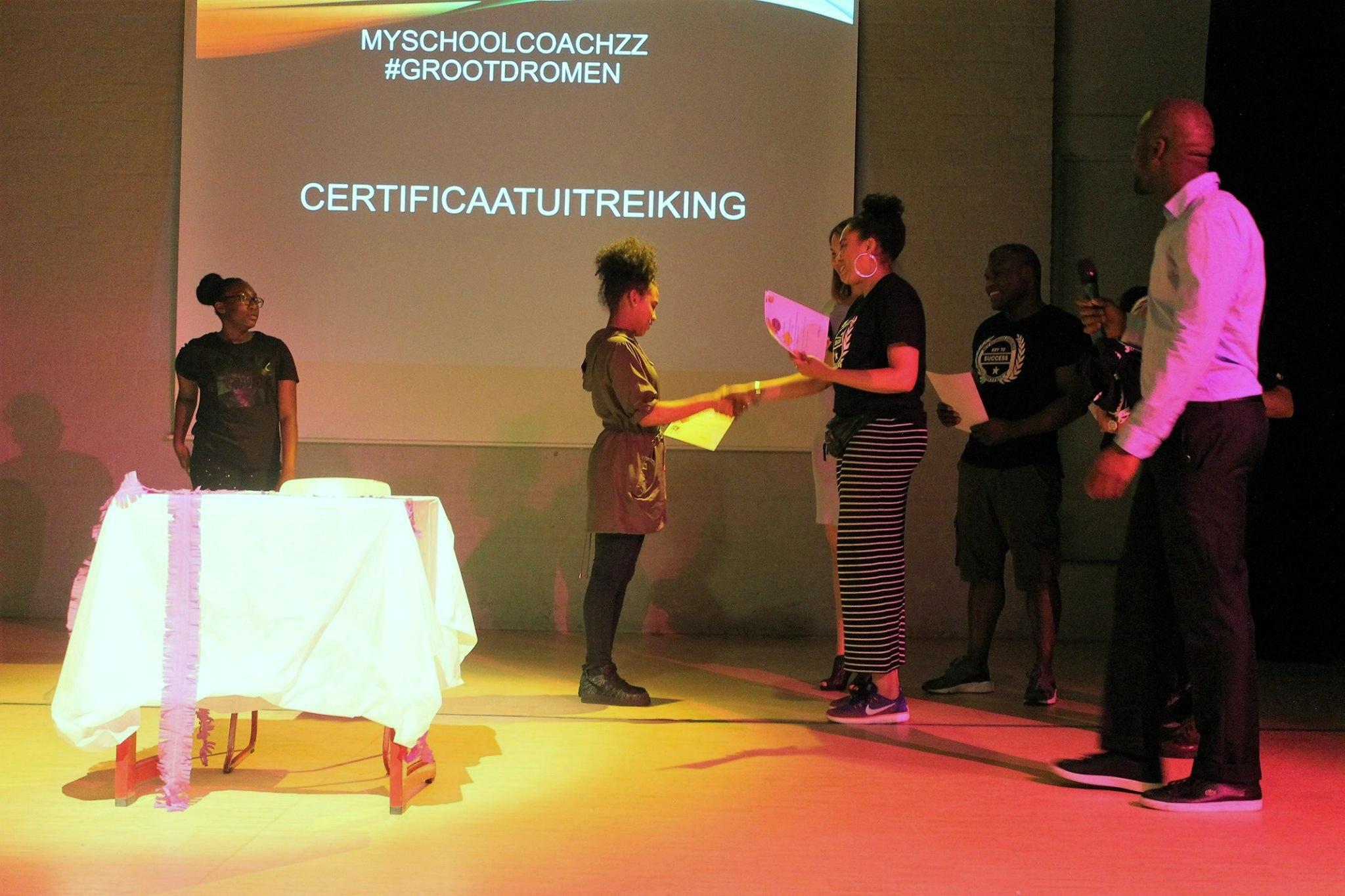 MSC Certificaatuitreiking